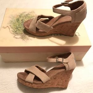 TOMS Wedge Shoes